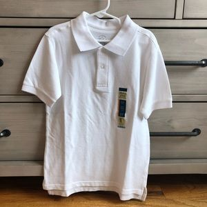 NWT white polo